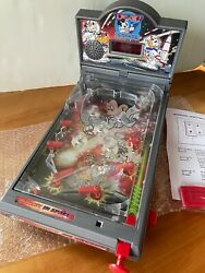 Rare New Disney Mickey In Space Tabletop Pinball Game Machine, No.22566
