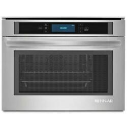 Jennair Jbs7524bs 24 Inch Single Steam Electric Wall Oven Stainless Steel