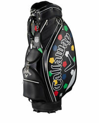 Callaway Truvis Design Stand Cassie Bag SPL-I SS 20 JM Black Color Model New $611.32