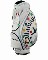 Callaway Truvis Design Stand Cassie Bag SPL-I SS 20 JM White Color Model New $611.32