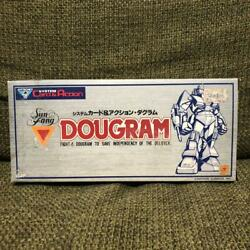 Takara Game Watch Dougram System Card And Action New