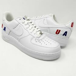 2008 Nike Air Force 1 Low Team Usa Olympics Sz 12 14 Player Exclusive Pe Sample