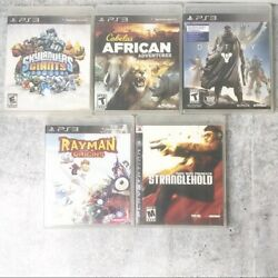 Playstation 3 Sony Game Bundle Set Of 5 Video Games Electronic Games Ps3