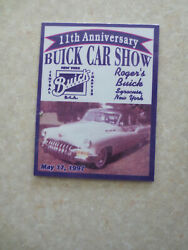 1997 Buick Car Show Central New York Buick Club Of America Car Dash Badge