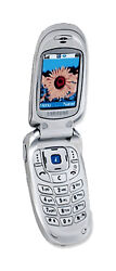 Samsung Sgh X426 - Silver Atandt Cellular Phone Used Not Working Parts Only