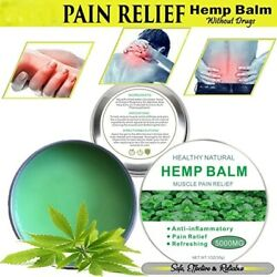 Organic Natural Balm Rub Pain Relief🔥 For Muscle, Arthritis, Joint And Back Ache