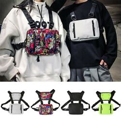 Fashion Tactical Chest Rig Bag Nylon Pouch Outdoor Sport Leisure Hiking Pouch $13.99