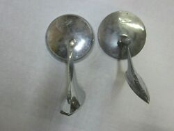 Vintage Lot Of 2 Chevy Side Mount Rear View Mirrors - Restore Or Re-purpose