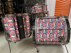 Tama Superstar Hyperdrive 4 Piece Shell Kit - No Snare Drum And No Tom Holder