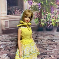 Mattel Vintage Barbie Francie Real Eye Rush With Outfit Fresh As A Daisy 1254