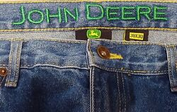 Vintage Style John Deere Jeans 38X30 Brand NEW with Tags $14.95