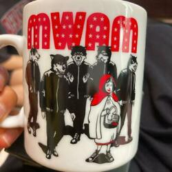 Rare Mwan Man With A Mission Mug W/ Tag In A Box Made In Japan