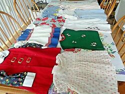 1950's Girls 12 mo. - 3T Dresses tops pants-all late 50's era all wearable  $6.50