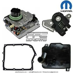 62te Transmission Mopar Solenoid Block Safety, Neutral Switch And Filter Kit 06-up