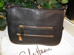 NWT COLE HAAN ALEXIS CROSSBODY BLACK LEATHER B31131 $348.00 *FREE SHIP* $79.00