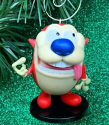 NEW Nickelodeon Stimpy J. Cat From Ren And Stimpy Custom Christmas Tree Ornament