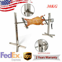 Large Stainless Steel Bbq Spit Roaster Rotisserie Cooking Pig Lamb Chicken 53