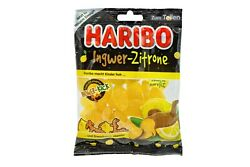 5x Bags Haribo Ginger Lemon Gummy Candy 🍬 875g | 1.9 Lbs ✈ Tracked Shipping