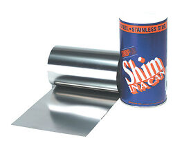 .010 Stainless Steel Shim Stock Roll