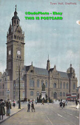 R385028 Town Hall Sheffield. W. H. Smith And Son. S. 2766