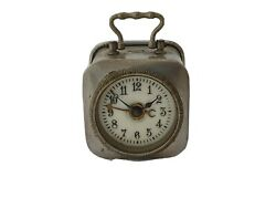 Brevete Antique Military Officer Style French Alarm Table Watch Clock