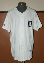 Vintage Nwot Rare Russell Athletic Detroit Tigers Mlb Jersey Usa  Size Xl