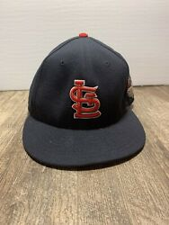 2013 St. Louis Cardinals New Era Navy World Series 59fifty Fitted Hat Size 7 1/2