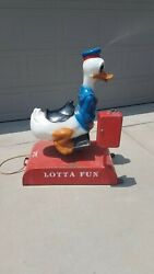 Donald Duck Disney Coin Operated Kiddie Ride
