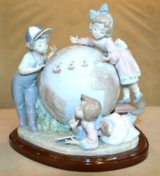 Lladro Voyage Of Columbus 5847 7th Lladro Mark Signed And Dated Francisco Polope