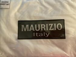 Maurizio Queen Sheet Set Made In Italy 1 Top Sheet 1 Fitted 2 Standard
