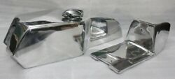 Yamaha Tz Rd250 Rd350 Td Seat And Gas Fuel Petrol Tank Cafe Racer Chrome Plated