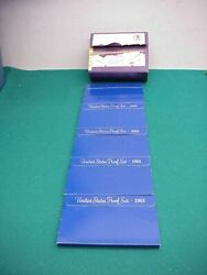 Us Proof Set 5 1983 Coins Outer Mailing Sleeve