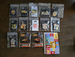 2002-06 Disney Trading Pins Lot X14 Mickey Pluto Donald Independence Day Lmtd Ed