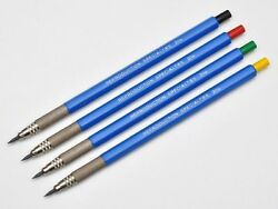 Set 4 Reproduction Specialties 2114 2.0mm Drafting Mechanical Pencil Leadholders