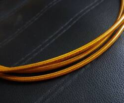 Hydraulic Disc Brake Braided Yarn Hose Suit Magura 9.6ft Gold Made With Kevlar