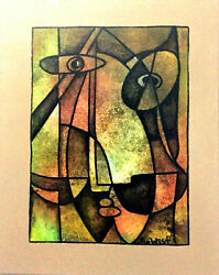 Lost Of Reason About The Children Original 20andrdquo X 16andrdquo By Rowest. W/coa