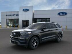 2020 Ford Explorer ST 2020 Ford Explorer Agate Black Metallic with 47 Miles available now!