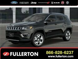2019 Jeep Compass Limited 2019 Jeep Compass Diamond Black Crystal Pearlcoat with 47 Miles available now!