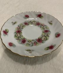 Lefton China 2320 July Water Lily Saucer