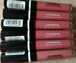 6 Covergirl Melting Pout Matte - 310 Coral Chronicles