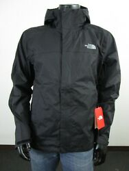 Mens TNF The North Face Venture 2 Dryvent Waterproof Hooded Rain Jacket Black $84.95