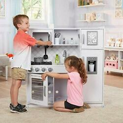 Melissa and Doug Wooden Chef's Pretend Play Toy Kitchen Great For Children.