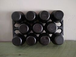 Vintage Griswold 1 948f Cast Iron Corn Bread Muffin Cupcake Baking Pan Mold