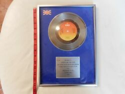 Bpi Riaa Uk Gary Pucket And The Union Gap 1974 Young Girl 250,000 Sales Rare Brs