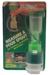 Vtg Measure And Pour Spout For Fertilizers Weed Killer Insecticides Made In Usa