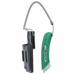 Pacific Handy Green Plastic Cutter Right Handed S4 Safety Cutter Kit