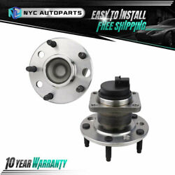 Pair Front Wheel Hub And Bearing For 1991 1992 1993 1994 1995 1996 Chevy Corvette