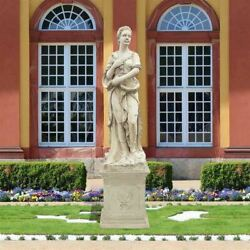 Four Goddesses Of The Seasons Winter Statue With Plinth
