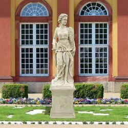 Four Goddesses Of The Seasons Summer Statue With Plinth