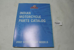 2002 Indian Scout Spirit Parts Manual Book Wheel Front End Tank Seat Eps23560